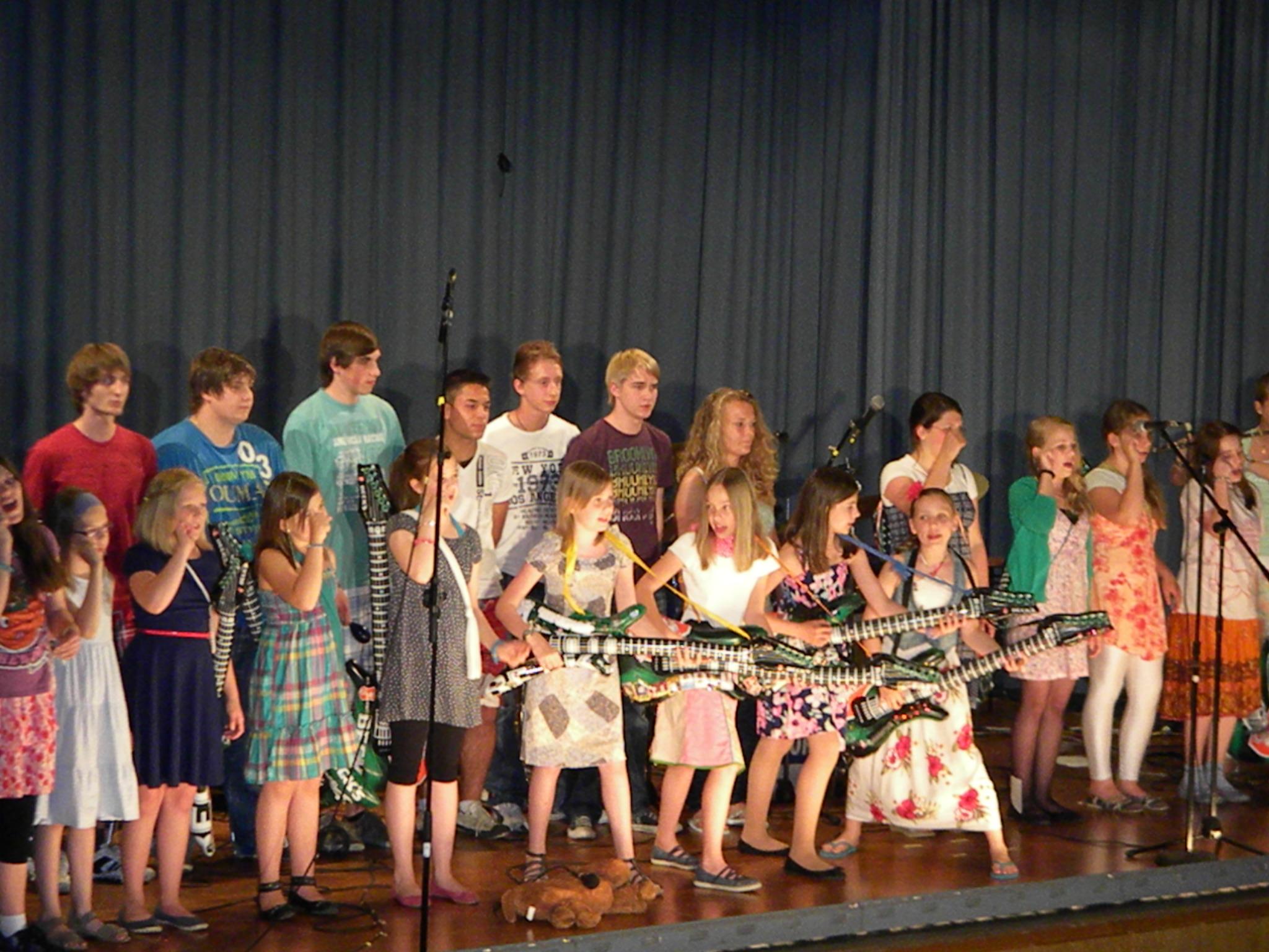 """Sommerkonzert mit Abschied von """"Vroni"""""""