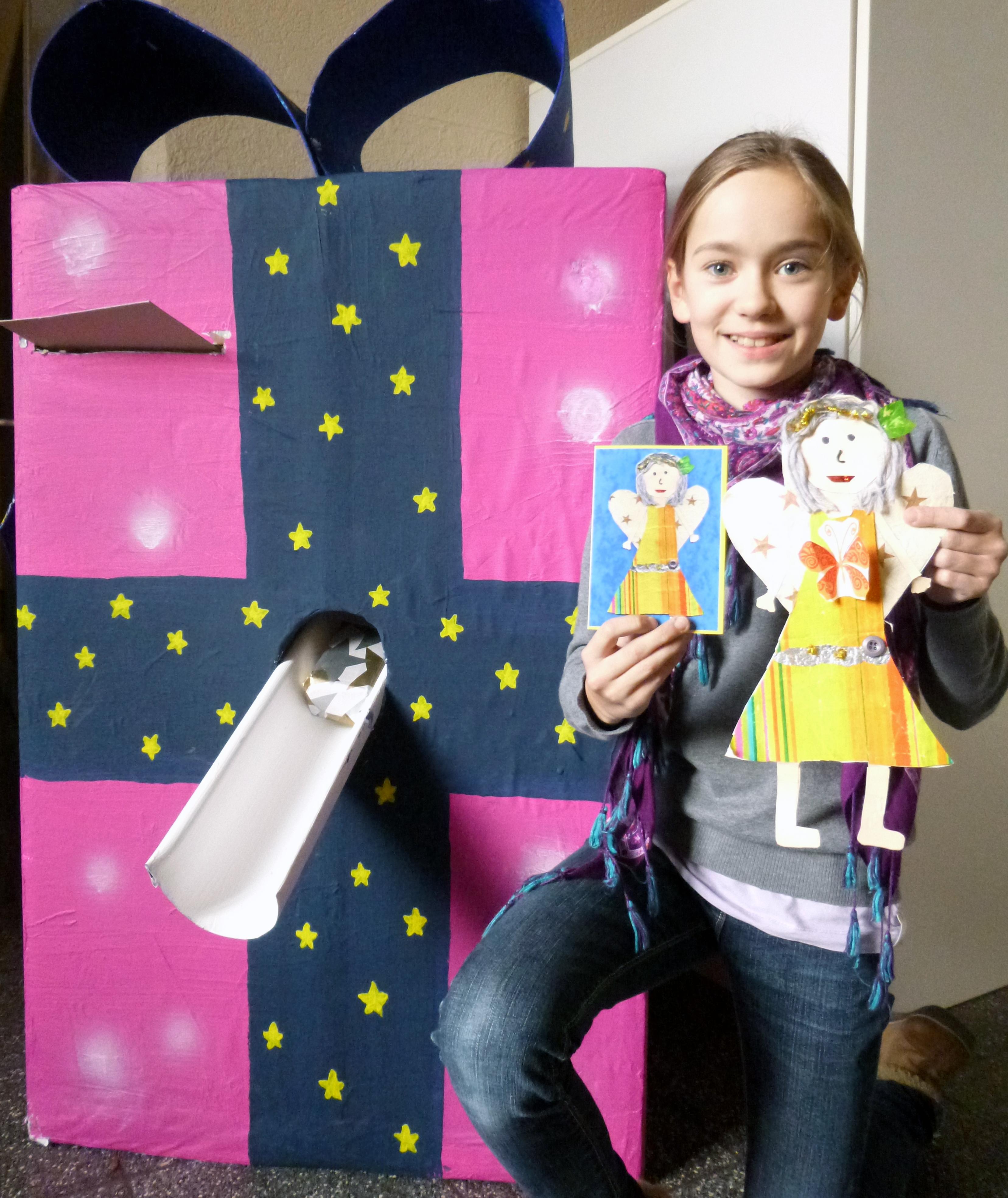 Hannahs Schutzengel für die Schulgemeinde