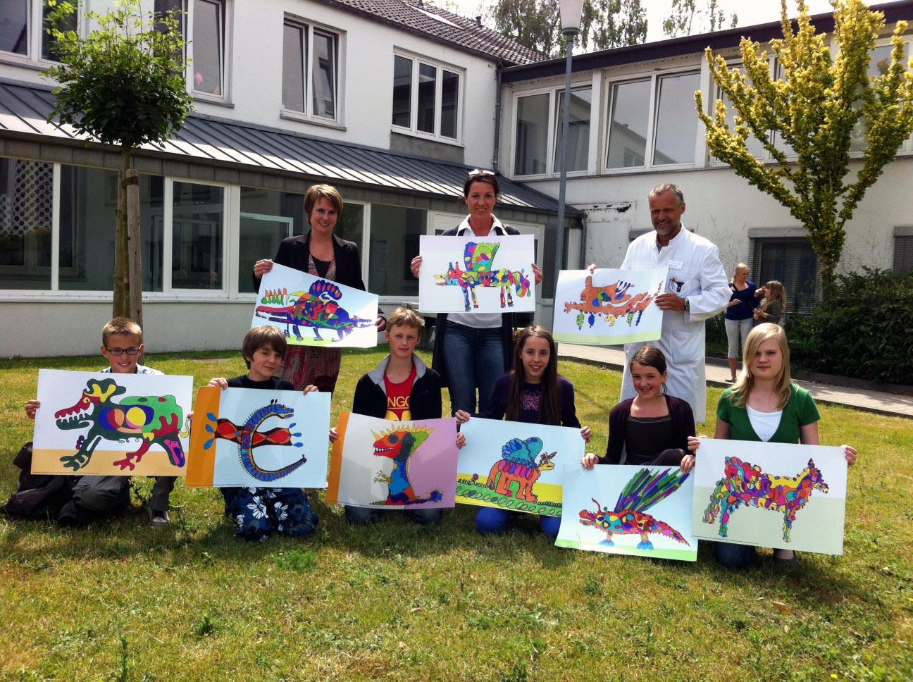 Kunst von Kindern für Kinder