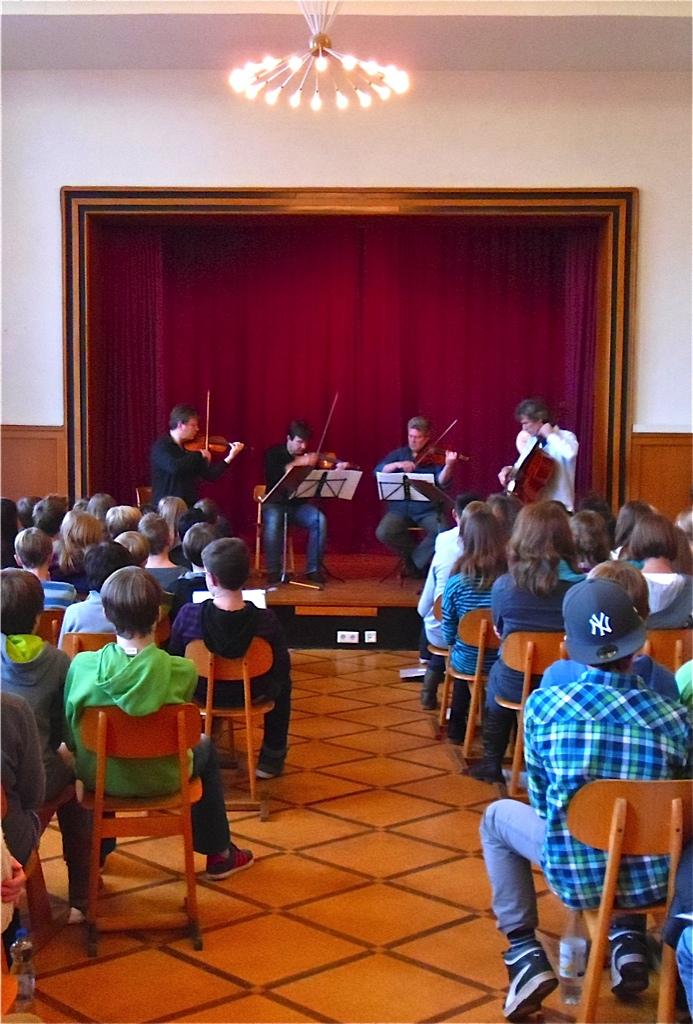 """Besuch des renommierten """"Vogler Quartetts"""""""