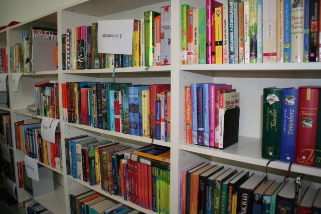 Einweihung der neuen Schülerbibliothek