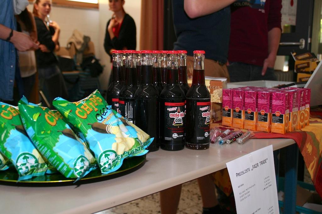 Die SV etabliert eine neue Tradition: Fairtrade