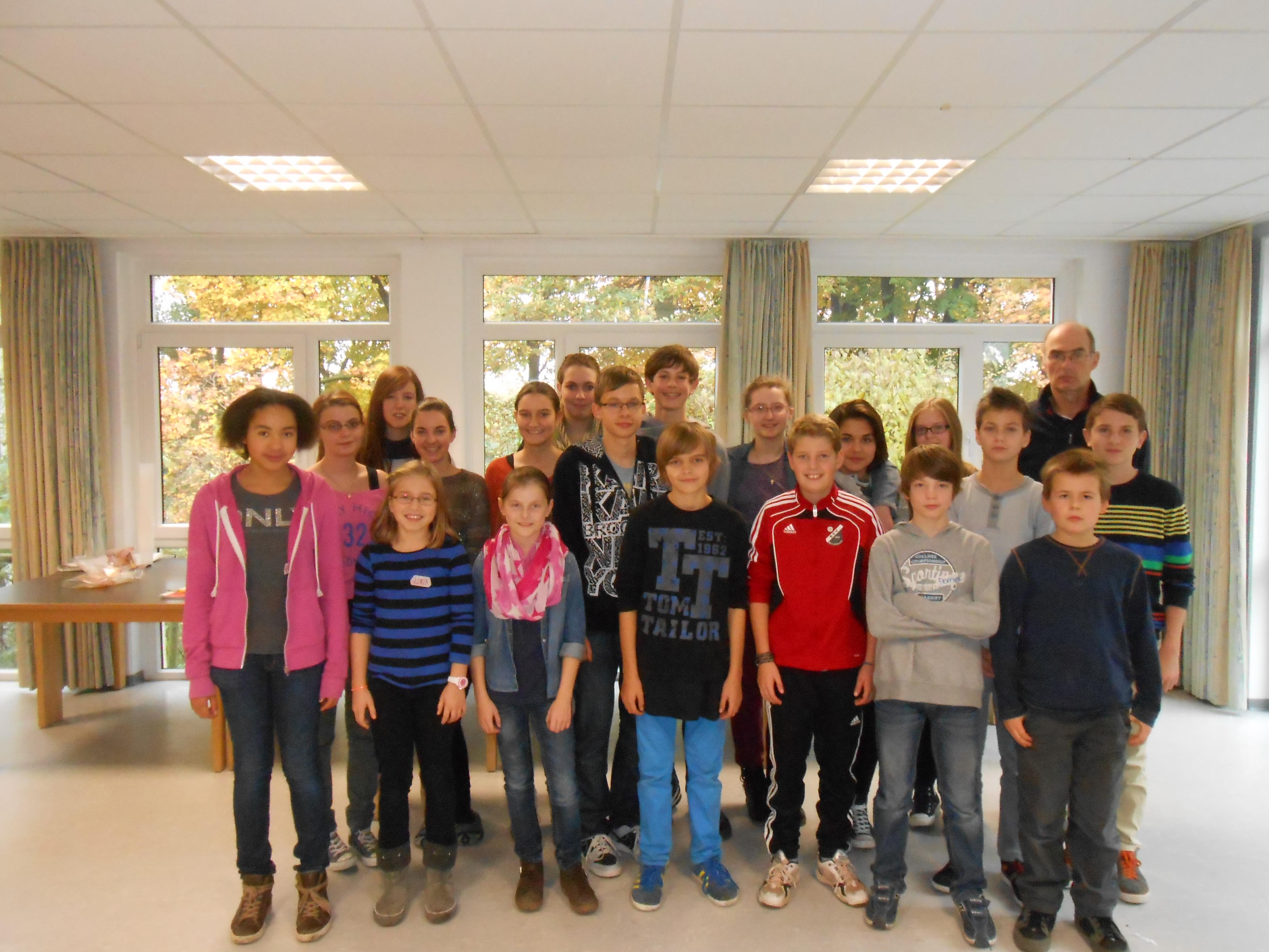 Bericht der SV über das Klassensprecherseminar am Wolfsberg (14. – 15.11.2013)