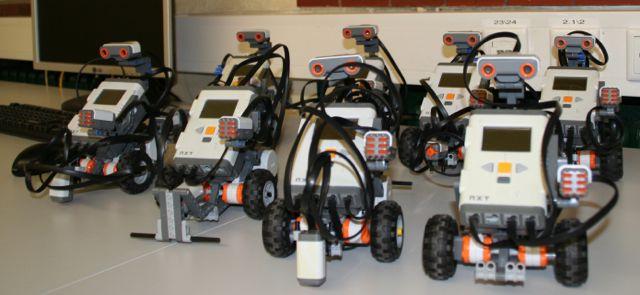 Roboter-Kurse für Mädchen am Stein
