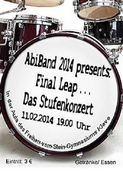 """Konzert-Ankündigung: """"Final Leap"""" – Das Stufenkonzert"""