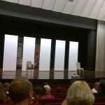 """Das moderne Bühnenbild zur """"Verwandlung"""""""