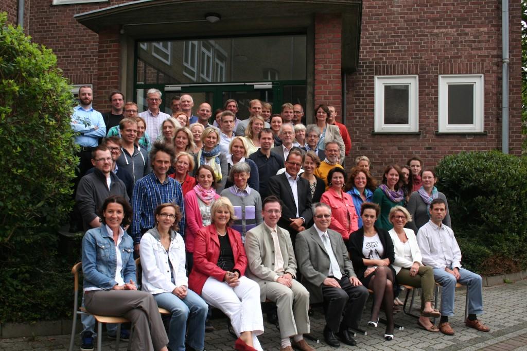 Das Kollegium am FvS-Gymnasium Kleve im Schuljahr 2014/15