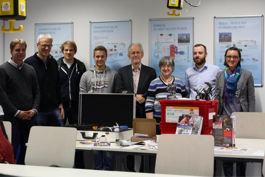 Besuch des Schülerlabors der Hochschule Rhein-Waal
