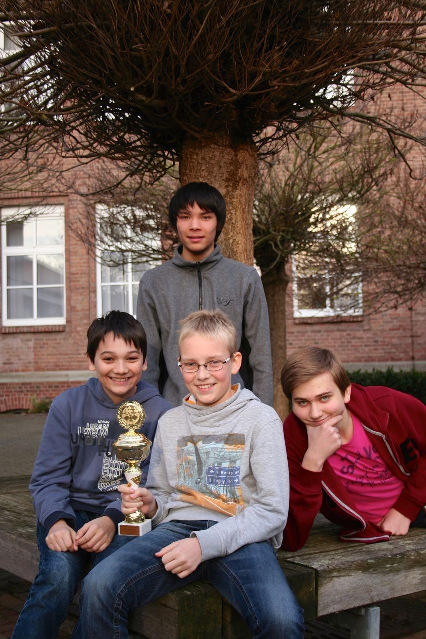 Erfolg beim Kreisschulsportfest Schach für Klever Schulmannschaft