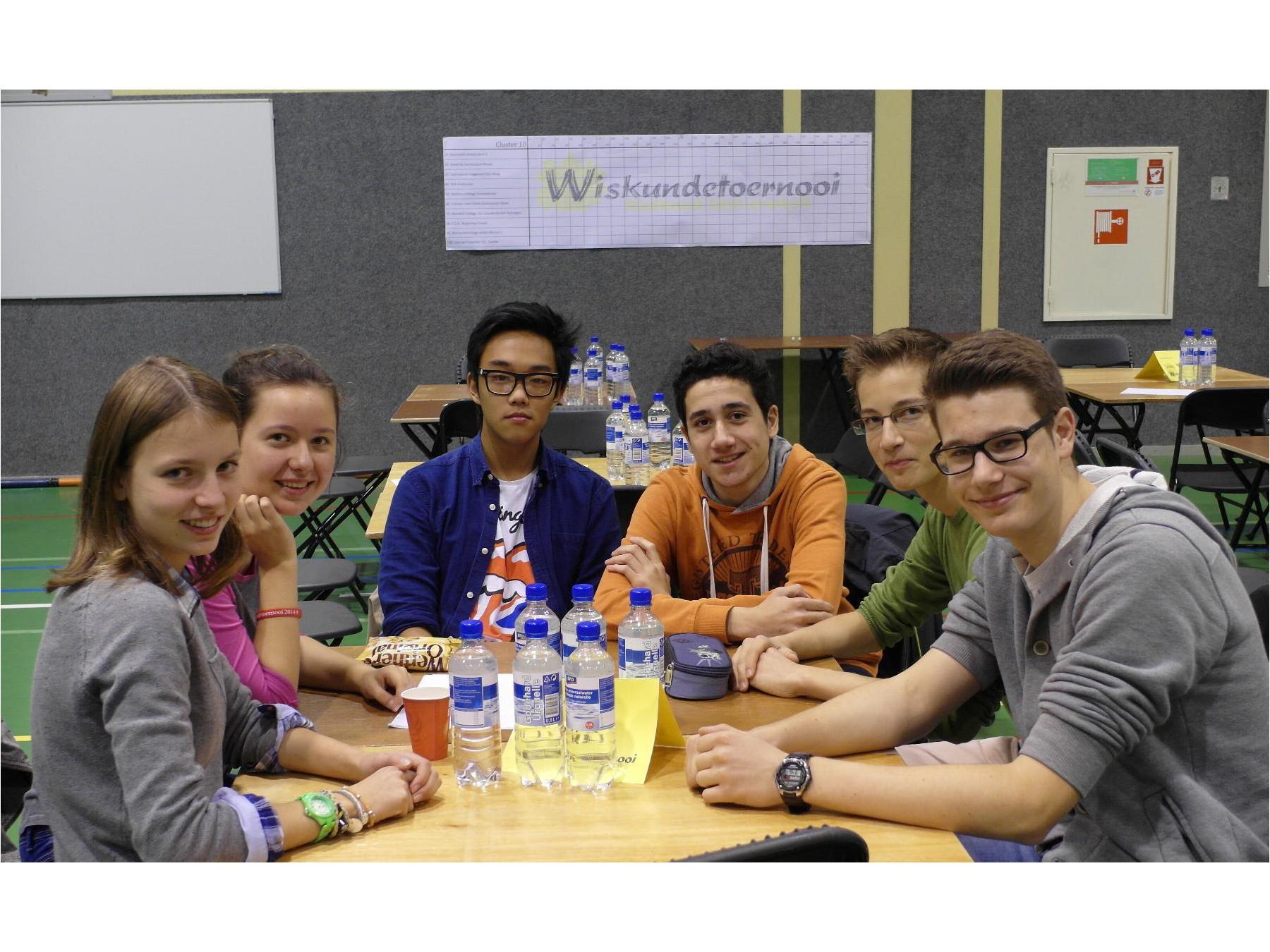 Wiskundetoernooi 2014 – Zum 17. Mal war das Stein beim niederländischen Mathewettbewerb