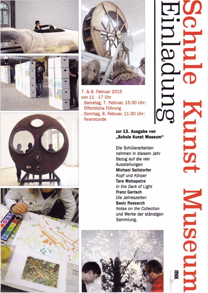 Schule - Kunst - Museum 2015