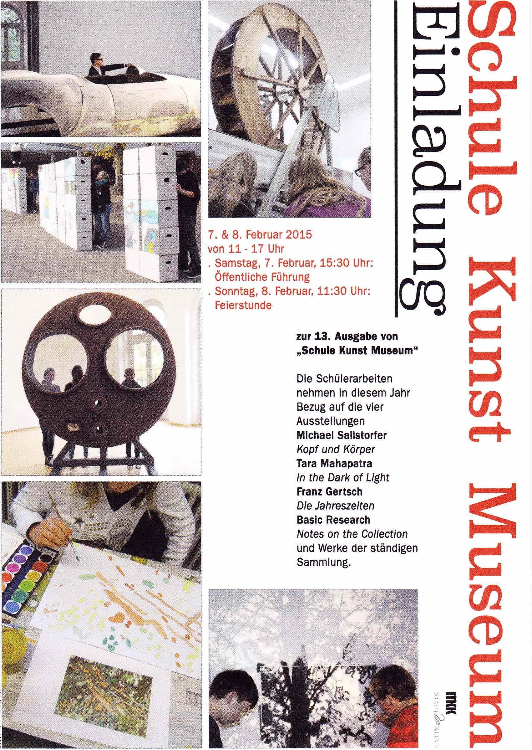 Schule – Kunst – Museum: Wir sind wieder dabei!