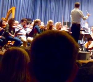 Schülerkonzert 2015 04 Das Dirigier-Instrument