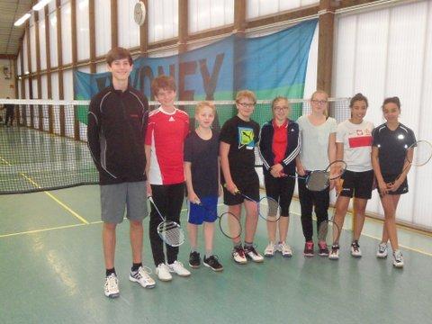 Erfolgreiche Badminton- Schulmannschaft