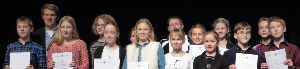 Stein-Schüler bei Kreisrunde der Mathematik-Olympiade wieder sehr erfolgreich
