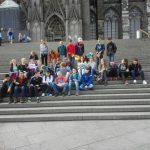 Zwischenstation vor dem Kölner Dom