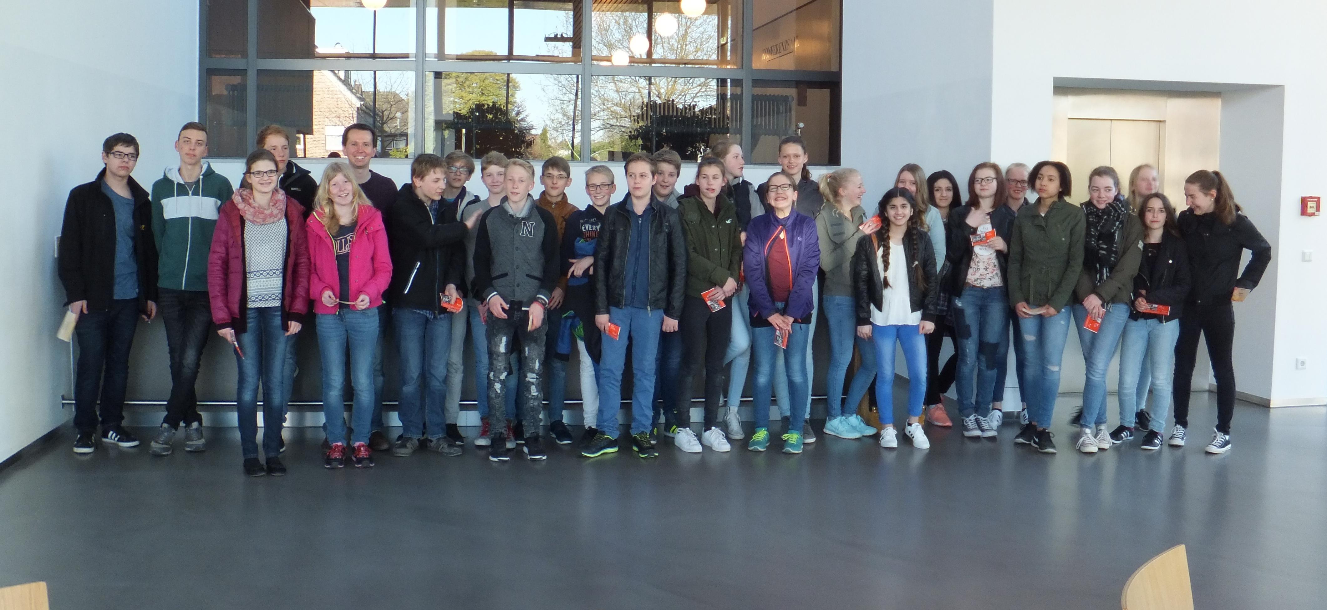 Theaterbesuch der Klasse 8c vom Freiherr-vom-Stein-Gymnasium