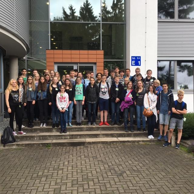Mathematikbegeisterte Steiner auf Tour durch Jülich