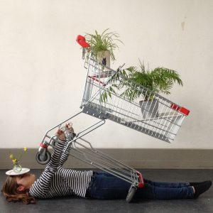 Installationen nach Csilla Klenyanszki - ein Kunstprojekt der Q2