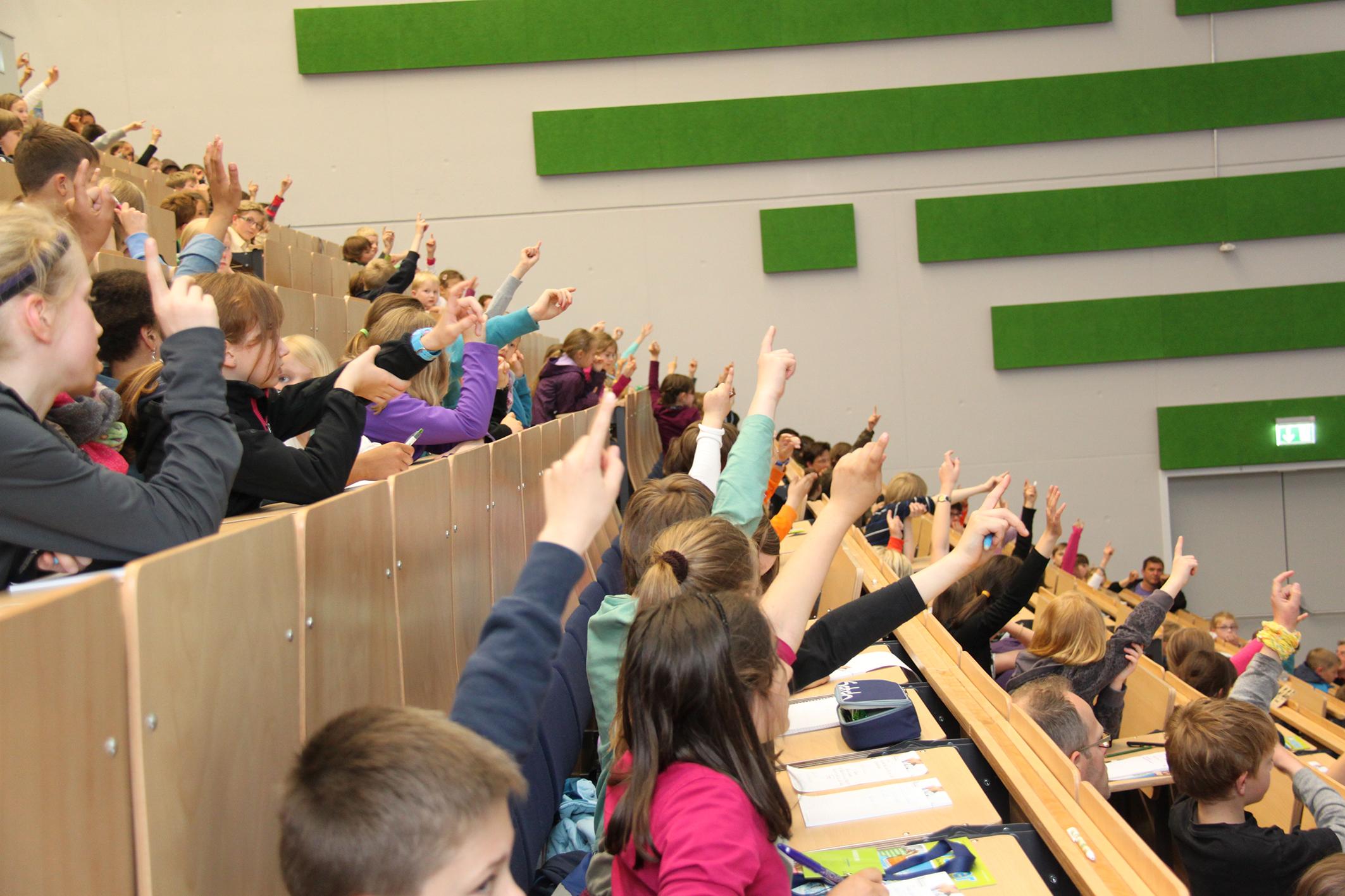 Start der Kinder-UNI ins Wintersemester 2017/18