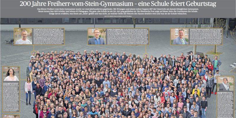 Unsere Schule feiert 200. Geburtstag