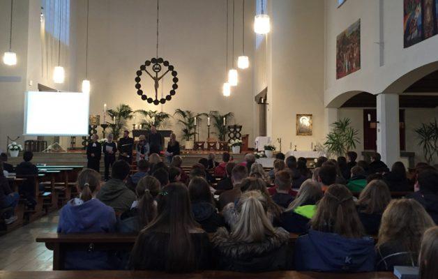 Ökumenischer Gottesdienst zum Schuljubiläum