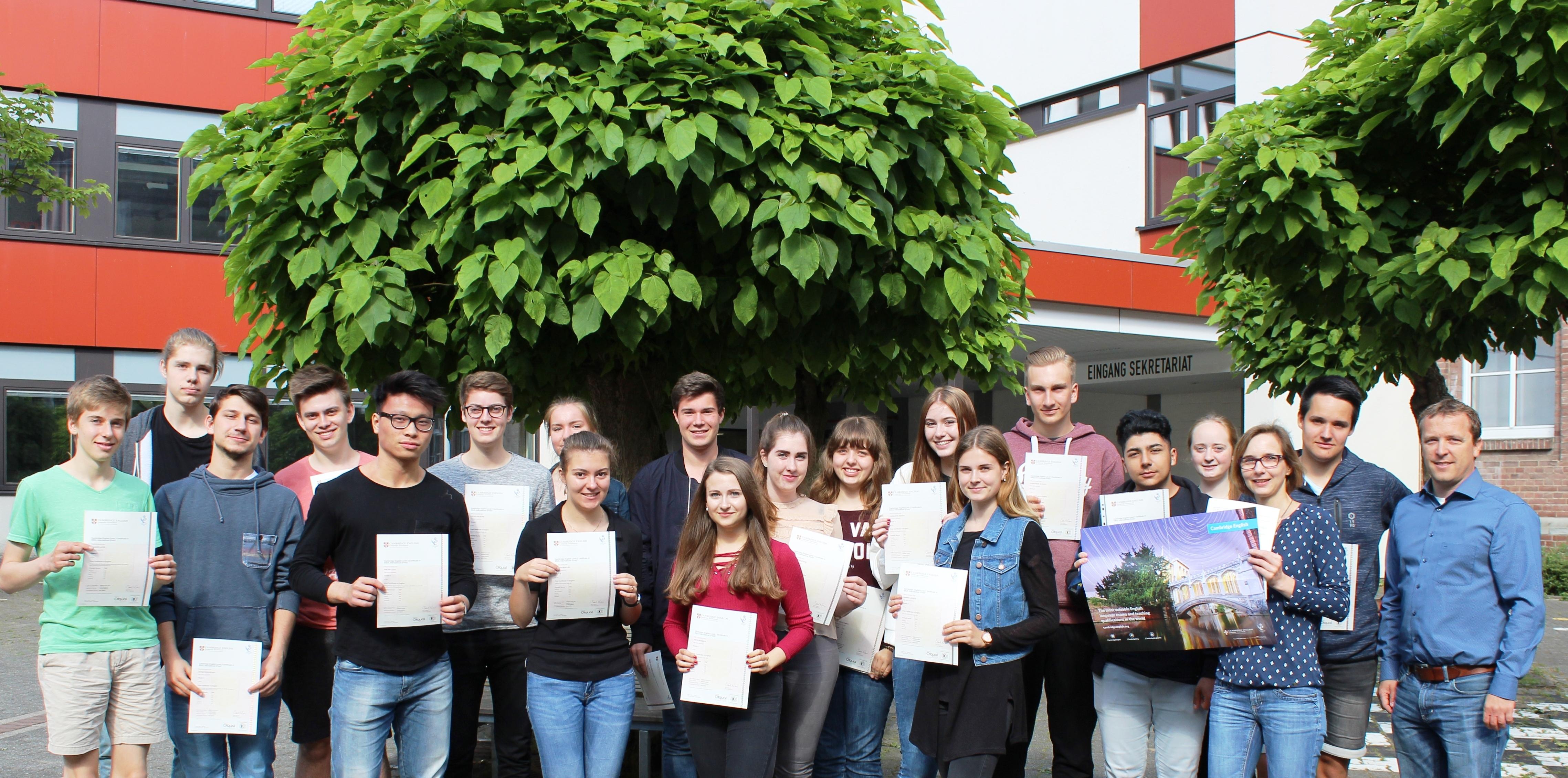 Cambridge Englisch am Freiherr-vom-Stein Gymnasium