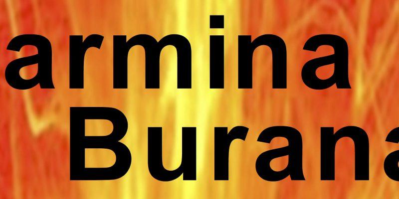 Carmina Burana – Chor der Klever Stimmen… und das Stein ist dabei!