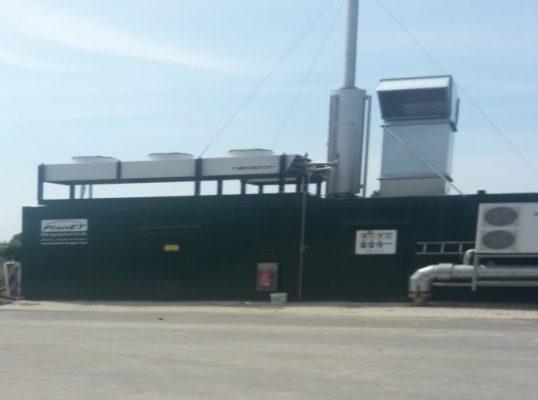 Besuch der Biogasanlage