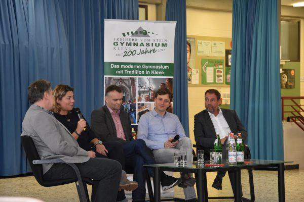 """""""Forum ehemaliger Steiner"""" mit Journalisten: Ehemalige Steiner berichten aus ihrem Berufsalltag"""