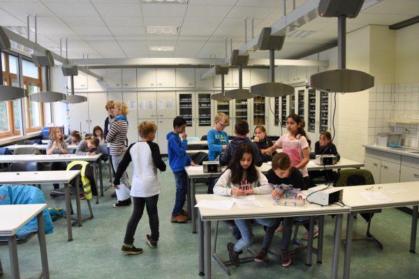 MINT-Projekt mit Marienschule – Physik