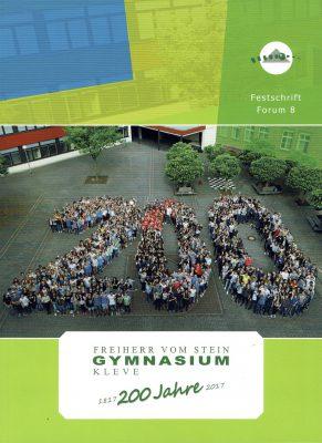 """Unsere Festschrift """"200 Jahre Freiherr-vom-Stein-Gymnasium"""" ist da!"""