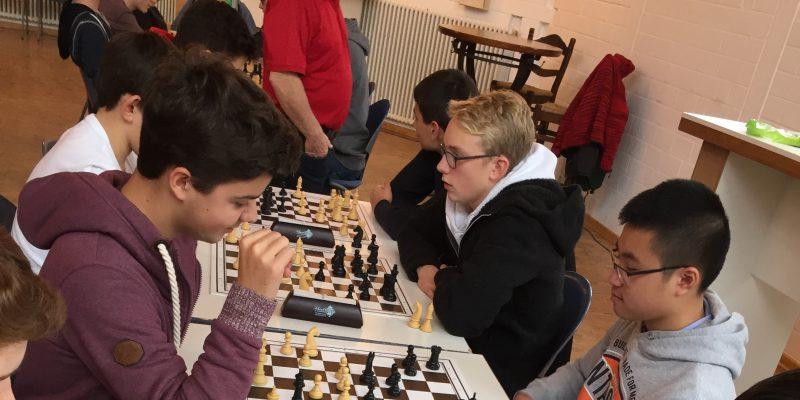 Schulkreismeisterschaften im Schach