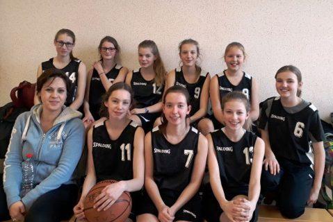 3. Platz bei den Basketball Bezirksmeisterschaften