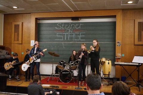 Steiner on Stage – die offene Bühne der SV