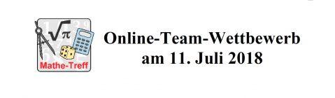 Online-Team-Wettbewerb Mathematik