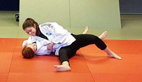 Judo-Gürtelprüfung erfolgreich bestanden