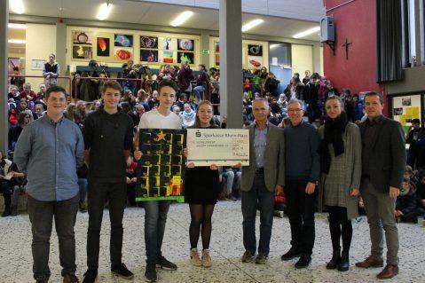 400€-Spende der SV an das Klever Kindernetzwerk