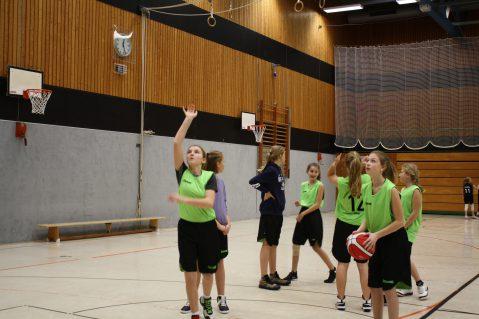 Bezirksmeisterin WK III Basketball