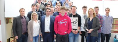 Stefan Rouenhoff (MdB) besucht EU-Projekttag am Stein