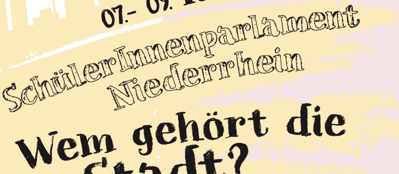 Mitmachen beim Schülerparlament Niederrhein