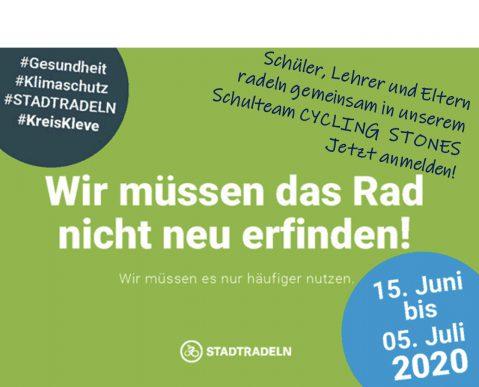 Rauf auf das Fahrrad beim STADTRADELN 2020