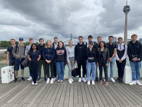 Exkursion des Erdkunde-LKs nach Düsseldorf